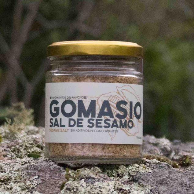 Imagen de GOMASIO SAL DE SÉSAMO INTEGRAL  KIAORA 100g